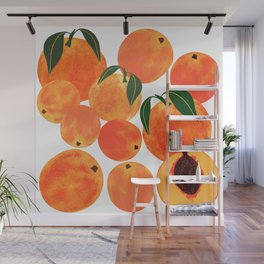 Peach Harvest Wall Mural