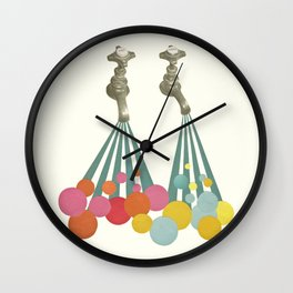 Soapsuds Wall Clock