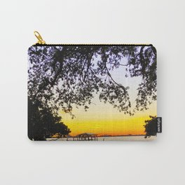 Summer Sunset Over the Bay Carry-All Pouch