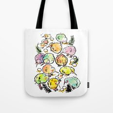 Kiwi Family Tote Bag