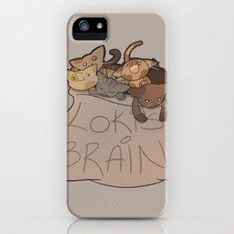 Loki's Brain iPhone Case