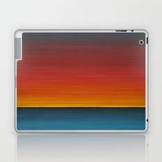 Sea Sunset Meditation Beach Painting Laptop & iPad Skin