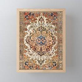 Ferahan Arak  Antique West Persian Rug Print Framed Mini Art Print