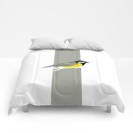 Parus Major 01 Comforters