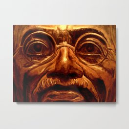 Gandhi - into the face Metal Print