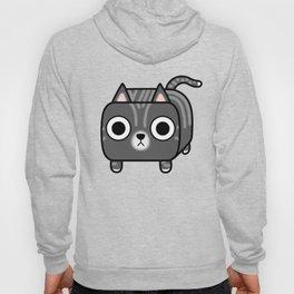 Cat Loaf - Grey Tabby Kitty Hoody