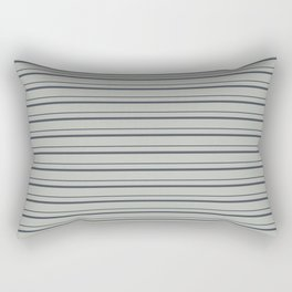 Benjamin Moore 2019 Trending Color Hale Navy Blue Gray HC-154 on Color of the Year 2019 Metropolitan Rectangular Pillow