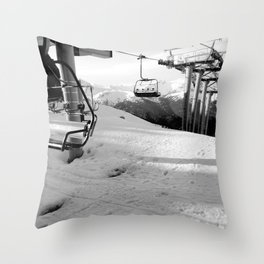 Scenic route equipment Throw Pillow