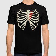 Skeleton MEDIUM Mens Fitted Tee Black