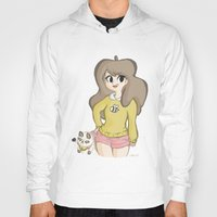 bee and puppycat Hoodies featuring Bee and Puppycat by Lyndie Witt