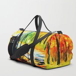 Tardis Art Waiting Somebody Duffle Bag