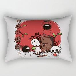 Kodamas & Susuwataris Rectangular Pillow