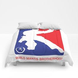 World Mantis Brotherhood Comforters