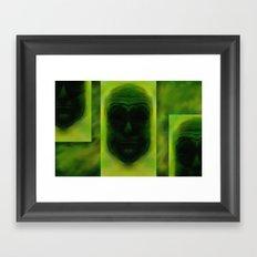 headz Framed Art Print