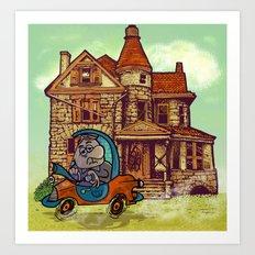 prima casa. Art Print