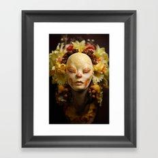 Golden Harvest Muertita Detail Framed Art Print