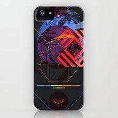 Chaotic Polygon Ensemble iPhone (5, 5s) Slim Case
