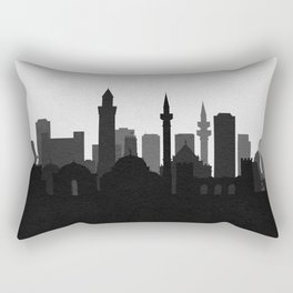 City Skylines: Antalya Rectangular Pillow