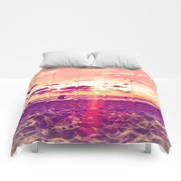 Expand Your Horizon Comforters