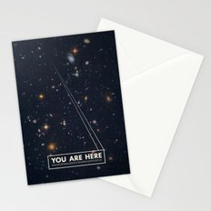 THE UNIVERSE - Space | Time | Stars | Galaxies | Science | Planets | Past | Love | Design Stationery Cards