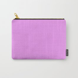 Spring - Pastel - Easter Purple Solid Color 2 Carry-All Pouch