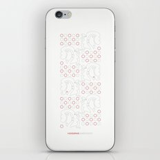 Hungarian Embroidery no.19 iPhone & iPod Skin
