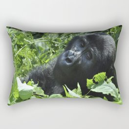 The Look of Humanity Rectangular Pillow