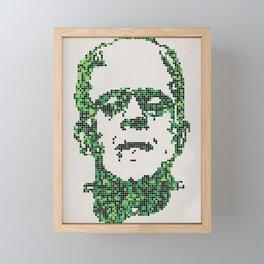 Frank's Monster Framed Mini Art Print