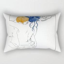 NUDEGRAFIA - 52 I'm curious if... Rectangular Pillow