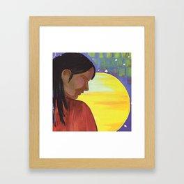 Native Sun Framed Art Print