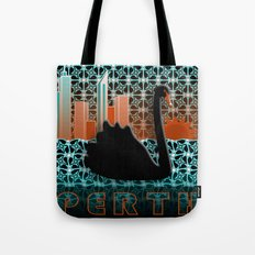 Perth Black Swan Tote Bag