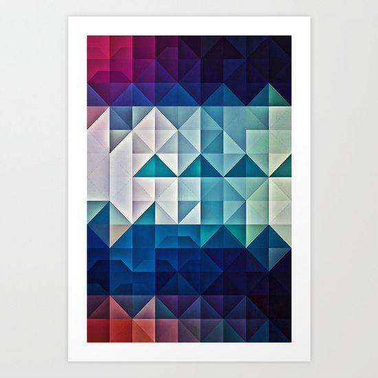 cool palette Art Print
