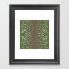 Mangueira Leaves Framed Art Print