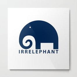 irrelephant Metal Print