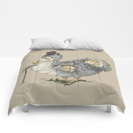 Grumpy Dodo_light Comforters