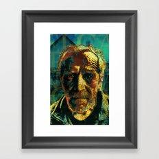 El capitán Tragabalas Framed Art Print