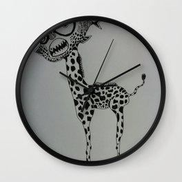 Piratgiraf Wall Clock
