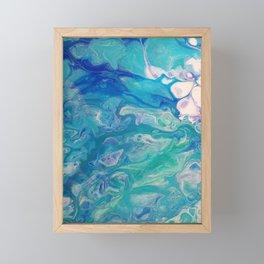 Effervescent Waves Framed Mini Art Print