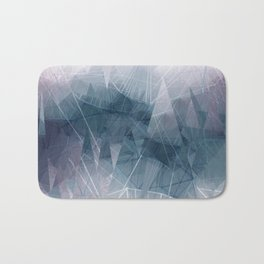 Ameythist Crystal Inspired Modern Abstract Badematte