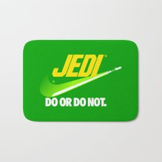 Brand Wars: Jedi - green lightsaber Bath Mat
