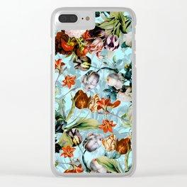 SUMMER BOTANICAL VI Clear iPhone Case