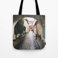 Visby Street Tote Bag