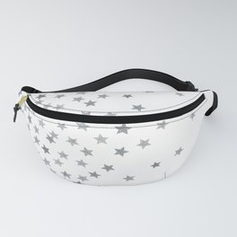 STARS SILVER Fanny Pack