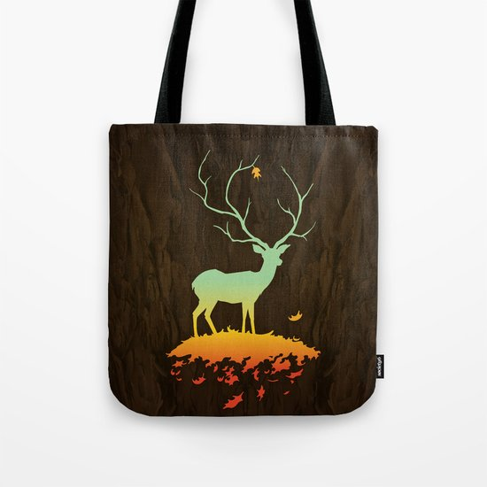 Fawn and Flora Tote Bag