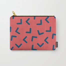 Boomerangs / V pattern Carry-All Pouch