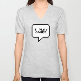 Play games Unisex V-Neck