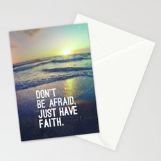 JUST HAVE FAITH Stationery Cards