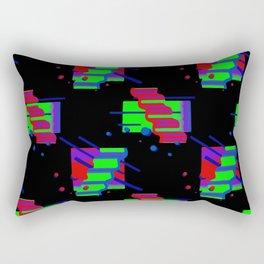 Geometric 90's Pattern Rectangular Pillow