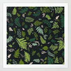 Fern & Foliage Art Print