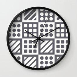 Billiplay Geometric Wall Clock